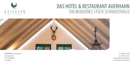 Hotel-Restaurant auf dem Sommerberg