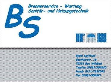 Björn Seyfried, Brenner-Service